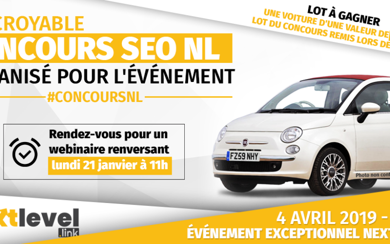 Concours SEO NextLevel : Smartphone pliable