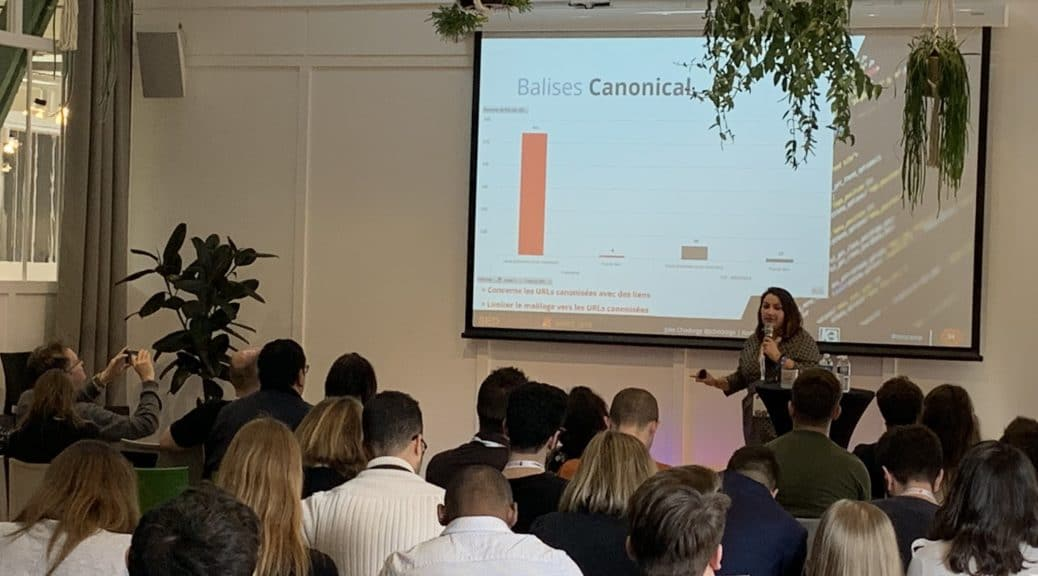 Conférence de Julie Chodorge au SEO Camp'us Paris 2019