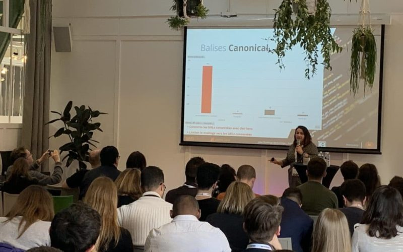 Analyse de logs, intervention SEO et interprétation par Google : Conférence SEO Campus Paris 2019