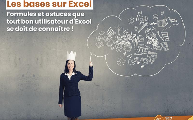 Les bases sur Excel pour le SEO : concatener, recherchev et tableau croisé dynamique