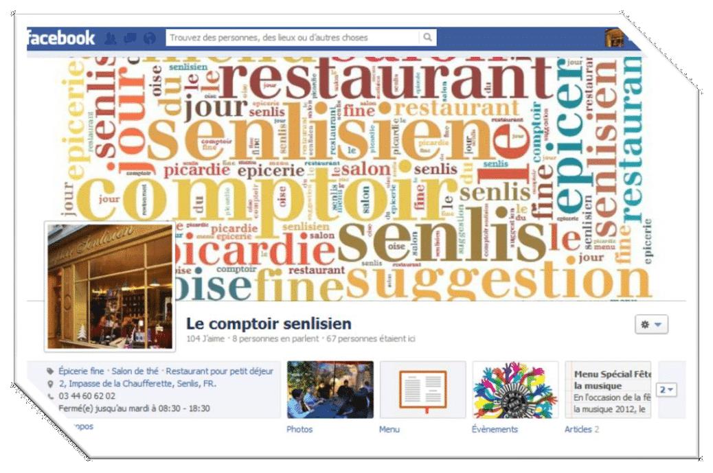 Facebook : Le Comptoir Senlisien