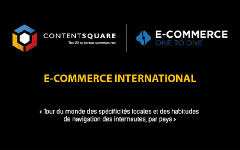 E-commerce international : les comportements des internautes