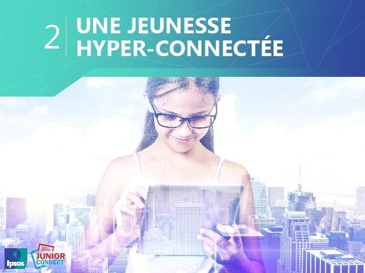Une jeunesse hyper-connectée