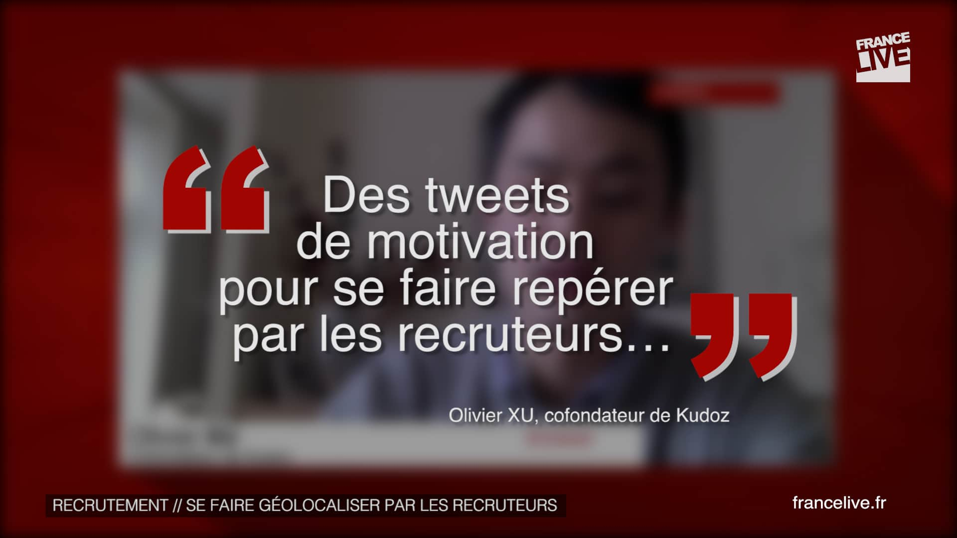 Citation Olivier Xu, Kudoz