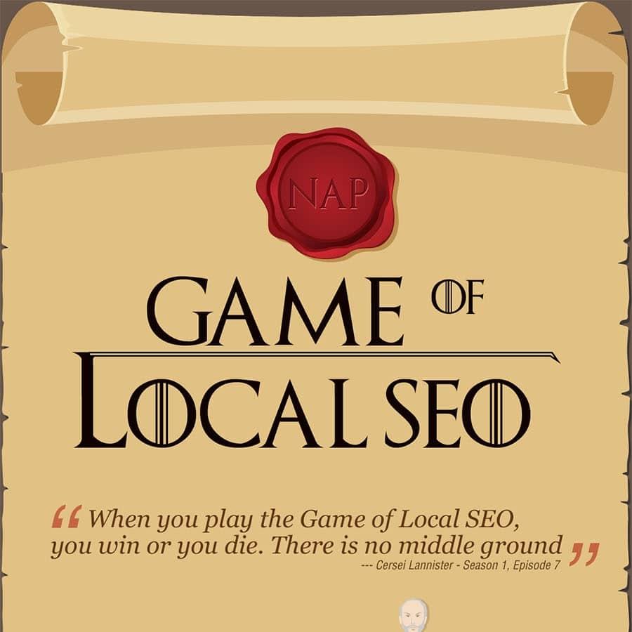 Le référencement local façon Game of Thrones